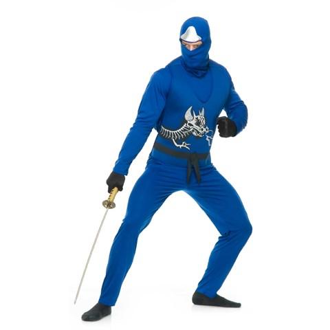 Blue Ninja Avengers Series II Mens Costume