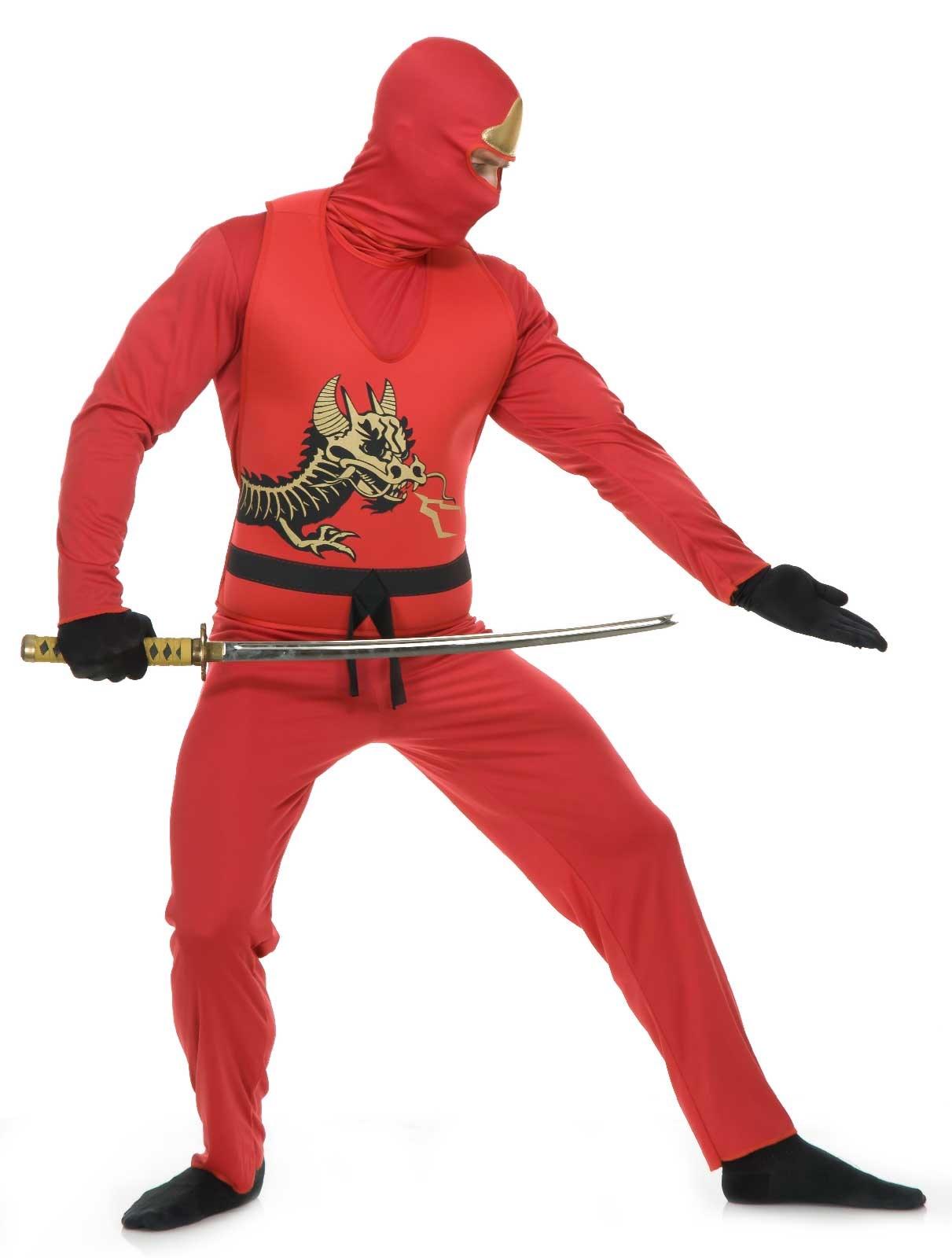 Red Ninja Adult Avengers Series II Costume