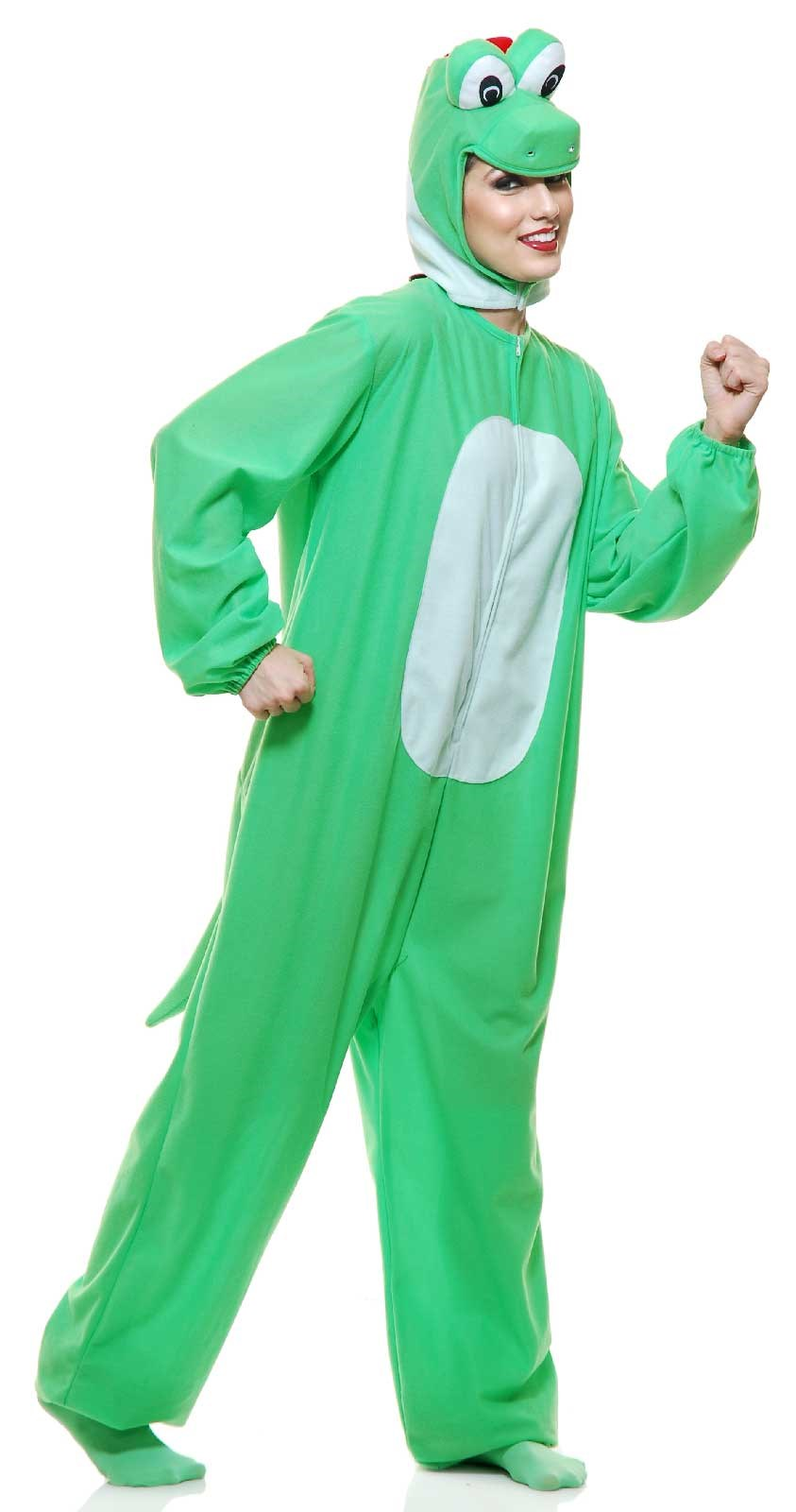 Green Adult Yoshimoto Dragon Costume