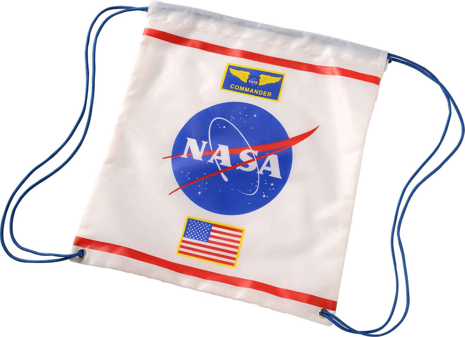 Image of Astronaut Drawstring Backpack
