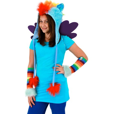My Little Pony - Rainbow Dash Hoodie Hat