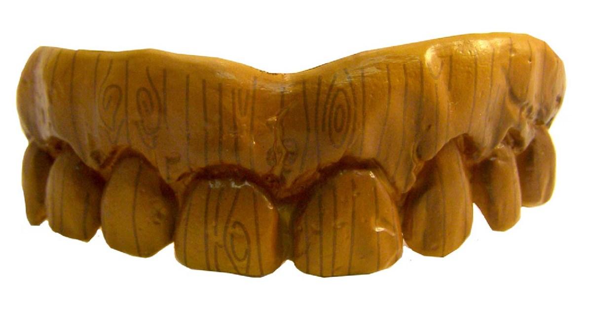 Fake Wooden Teeth Buycostumes Com