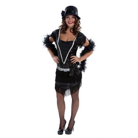 Elegant Womens Flapper Adult Costume
