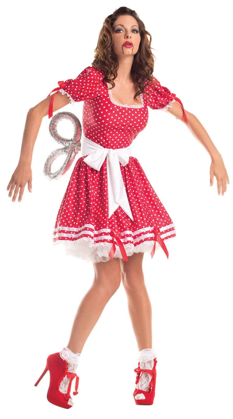 Wind Up Doll - Womens Costume