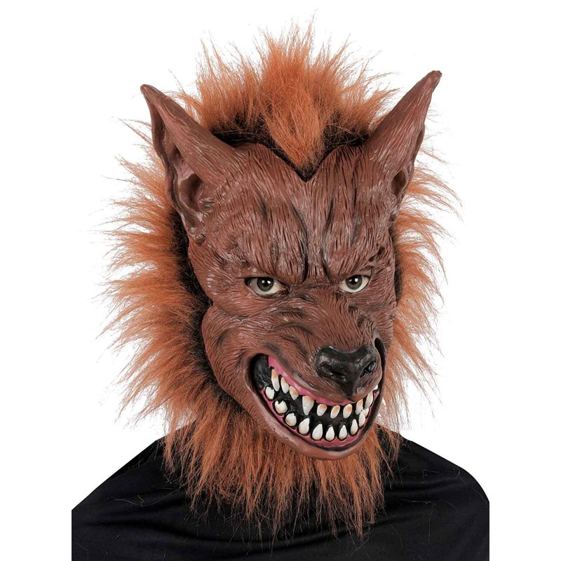 Scary Werewolf Mask for the 2015 Costume season.