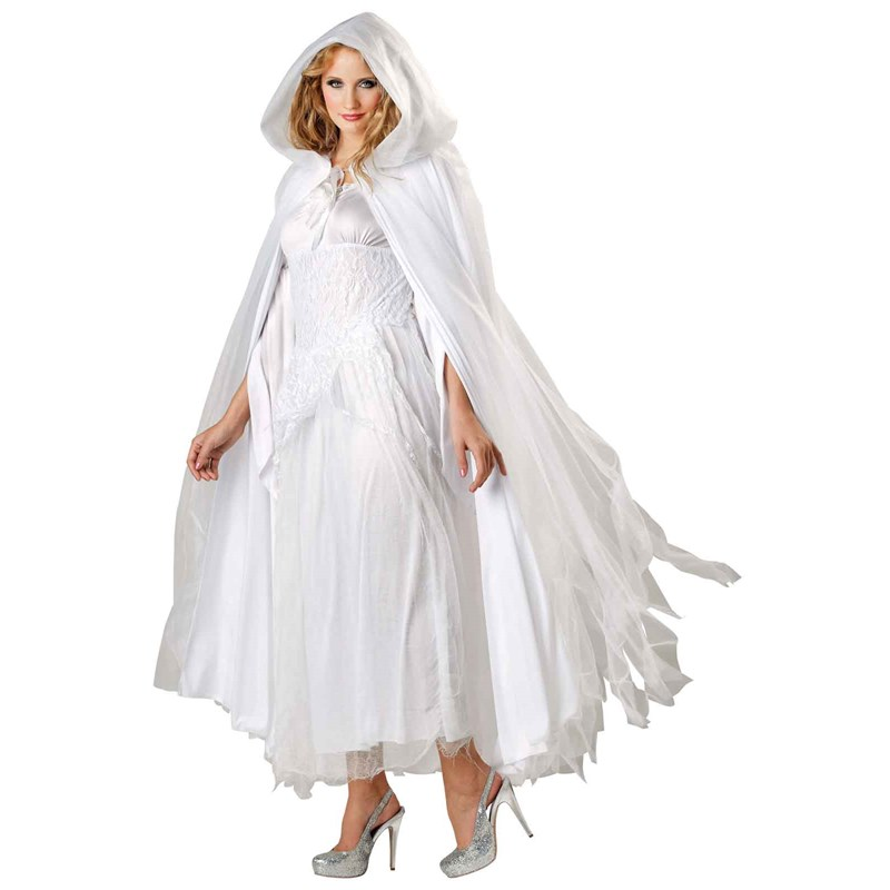 Haunted Ghostly White Costume Cape for the 2015 Costume season.