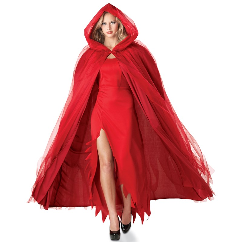 Devilish Red Adult Costume Cape for the 2015 Costume season.