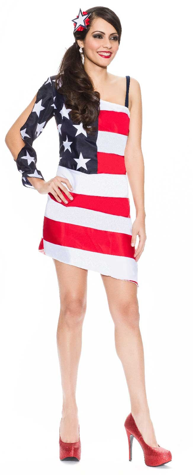 Image of 4th of July Star Spangled Sweetie Womens Costume