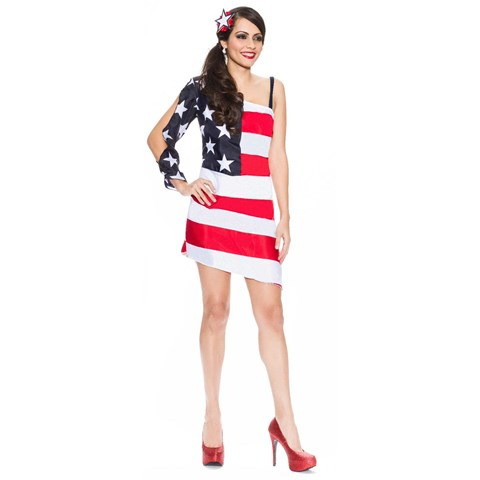 4th of July Star Spangled Sweetie Womens Costume