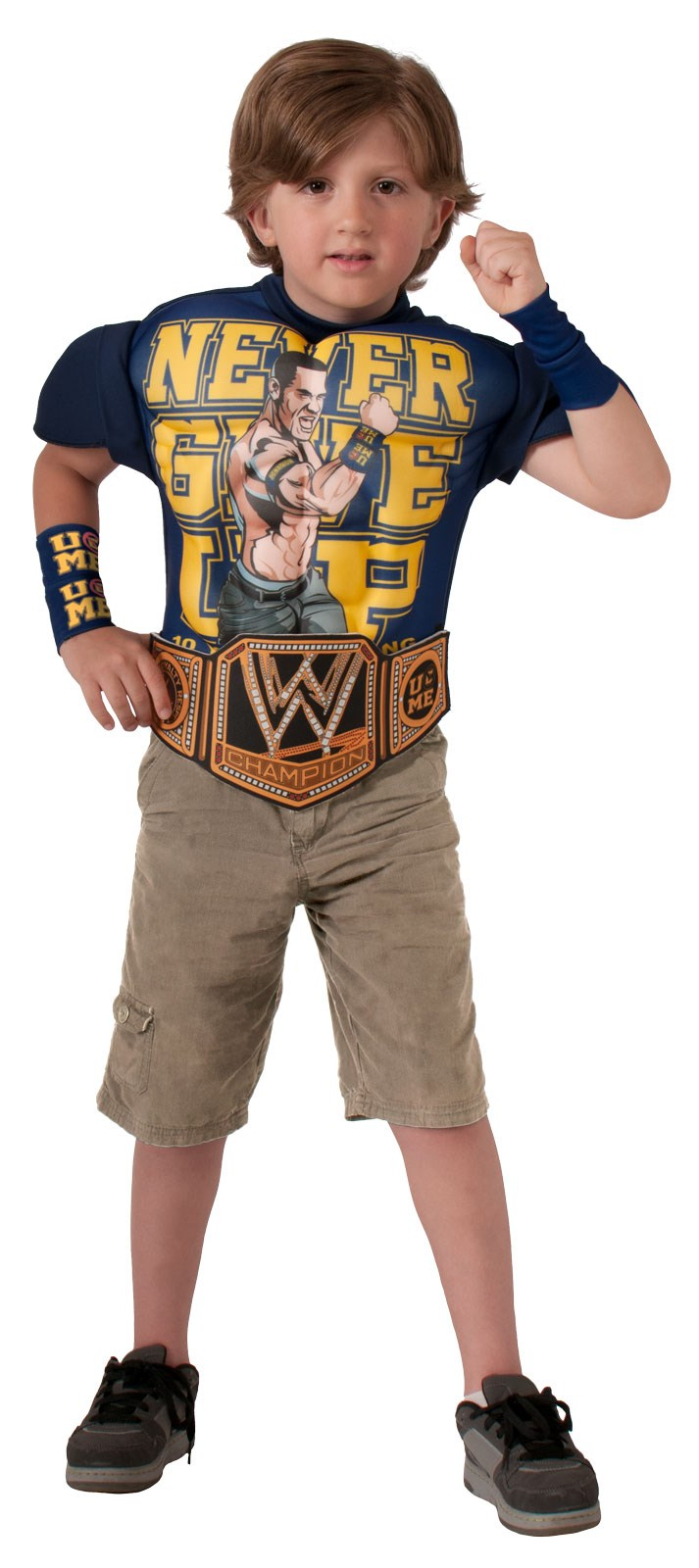 WWE – Deluxe John Cena Muscle Chest Child Shirt Set