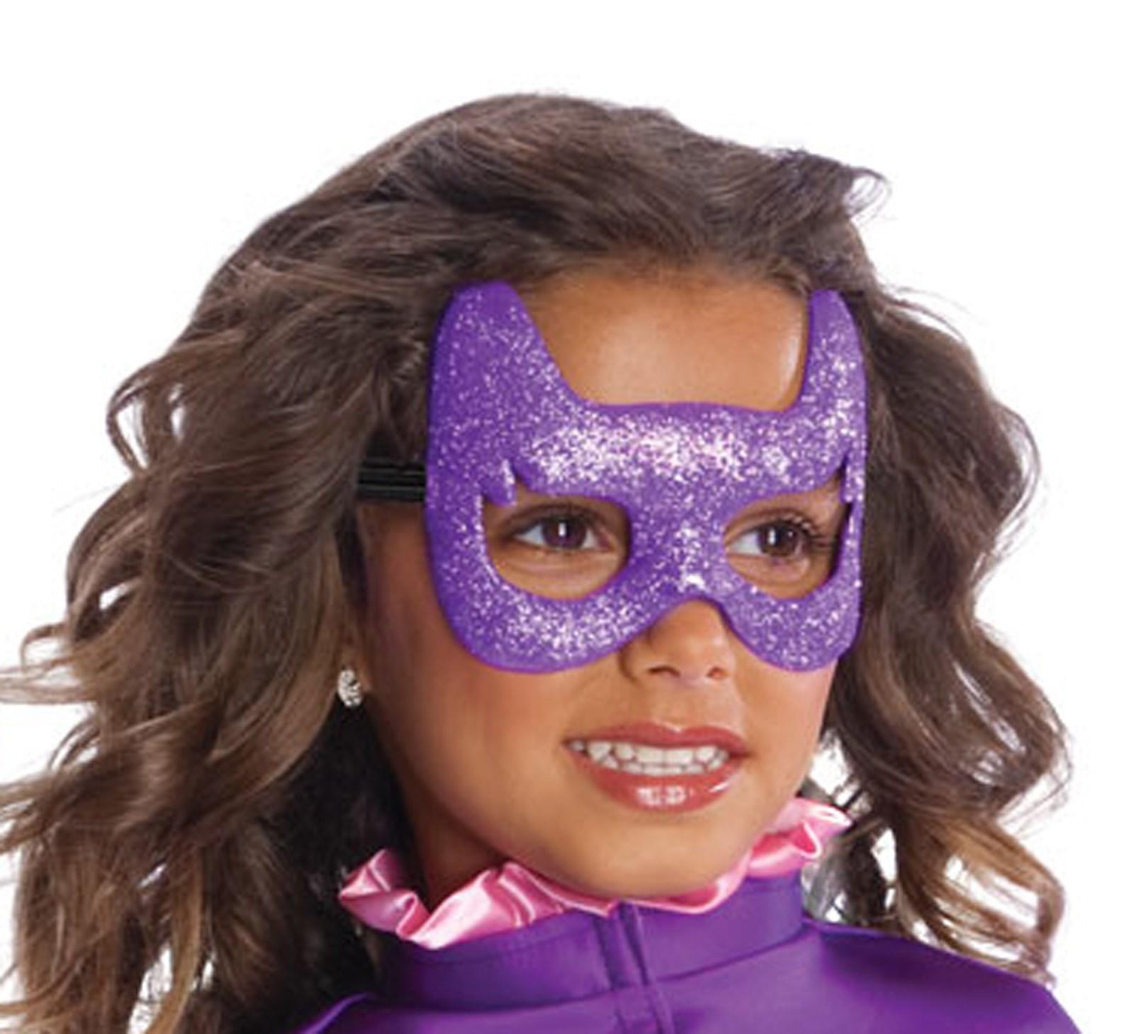 Image of Batgirl Glitter Mask