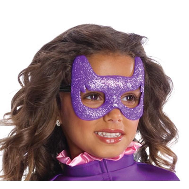 Batgirl Glitter Mask for the 2015 Costume season.