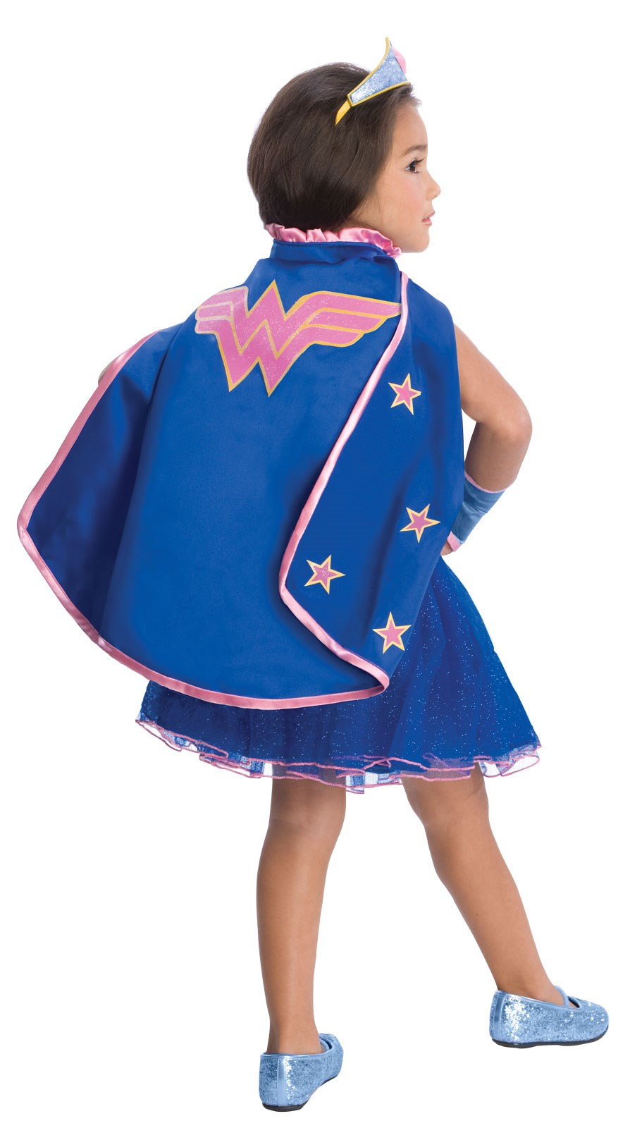 Image of Wonder Woman Cape With Puff Hanger