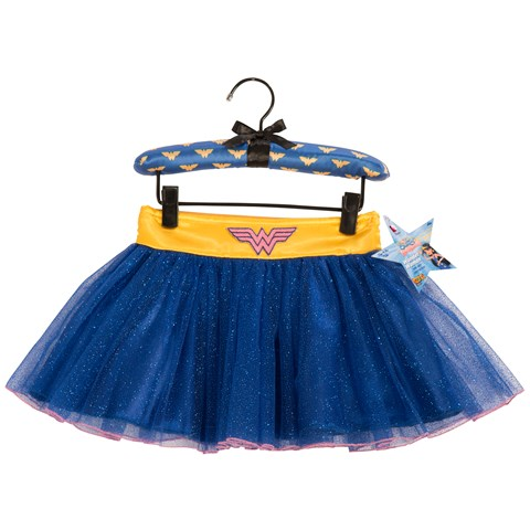 Wonder Woman Tutu Skirt With Puff Hanger