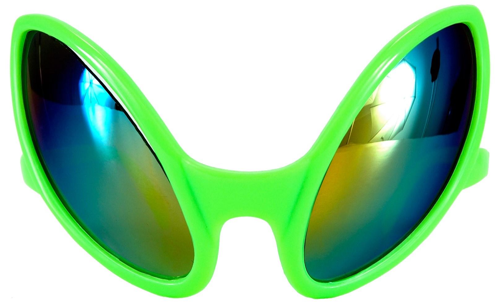 Close Encounter Green Alien Glasses