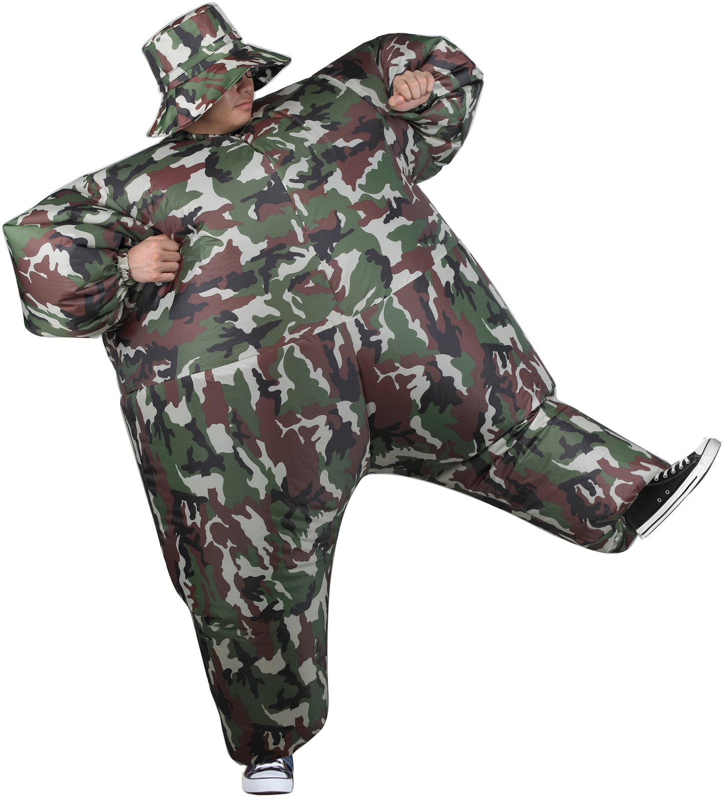 Inflatable Adult Camosuit Costume