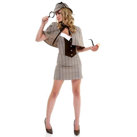 Sexy Womens Detective Costume