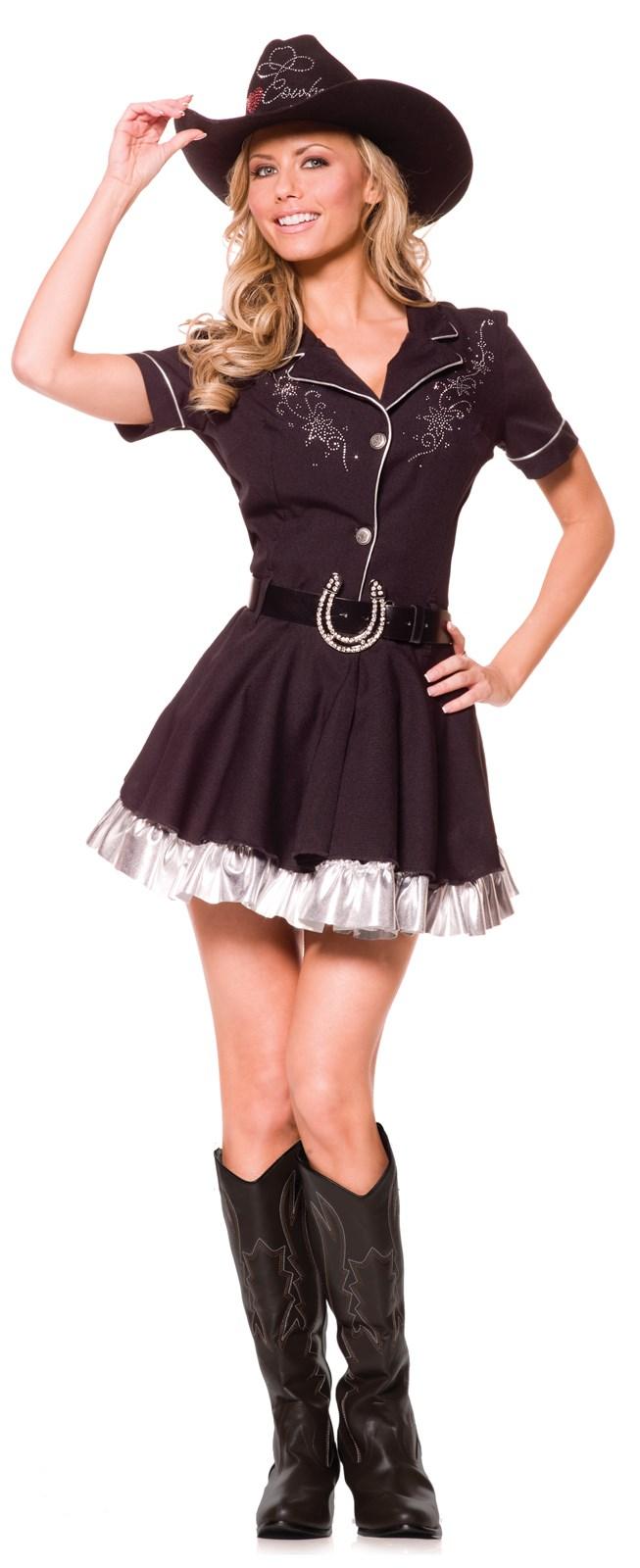 Rhinestone Adult Cowgirl Costume