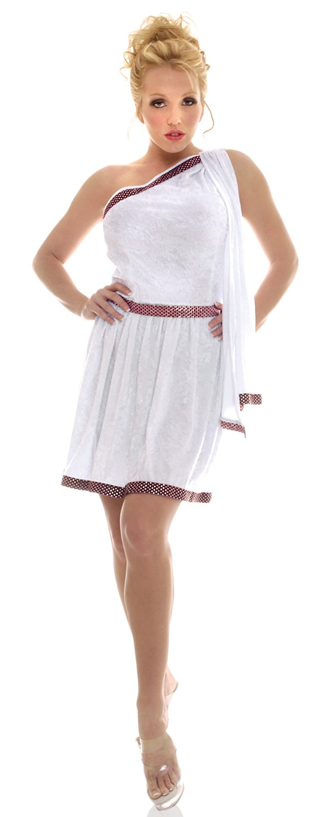 Roman Short Adult Toga Costume