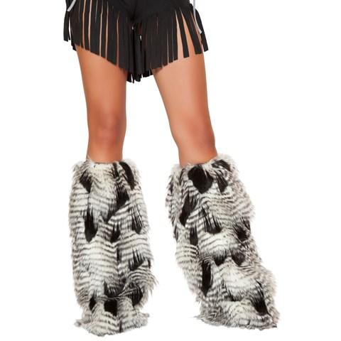 Fur Leg Warmer