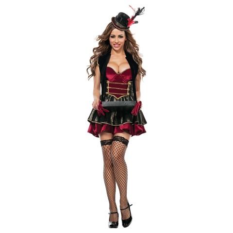 Elegant Adult Cigarette Girl Costume