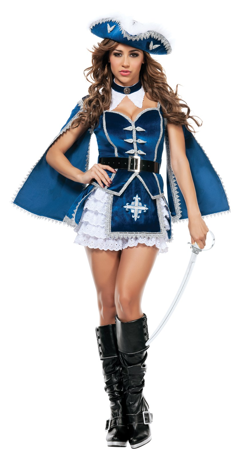 All for You Musketeer Womens Costume