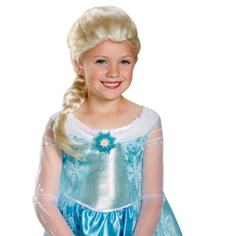 Frozen   Elsa Child Wig for the 2015 Costume season.