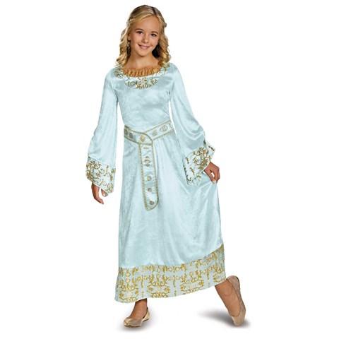 Maleficent - Aurora Deluxe Girls Blue Dress Costume
