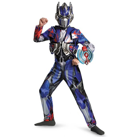 Transformers Age of Extinction -  Deluxe Optimus Prime Kids Costume