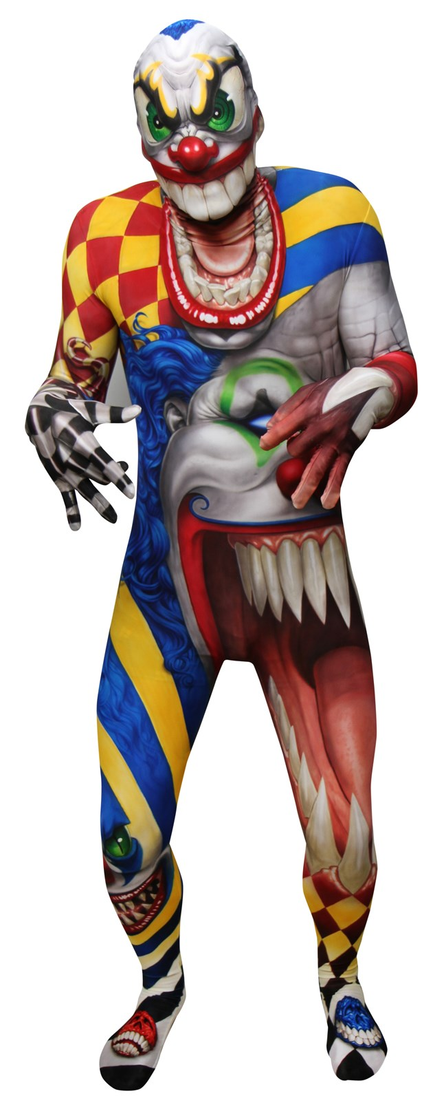 Monster Collection – Adult Creepy Clown Morphsuit