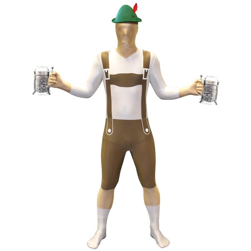 Lederhosen Adult Morphsuit for the 2015 Costume season.
