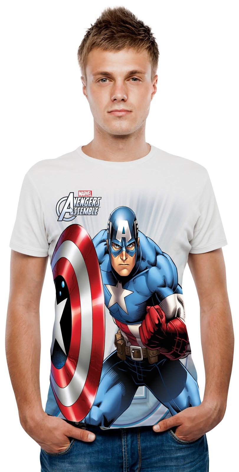 Marvel – Captain America Digital T-Shirt