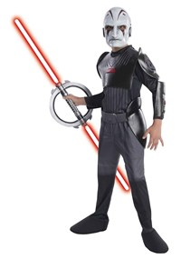 Click Here to buy Star Wars Rebels - Deluxe Inquisitor Kids Costume from BuyCostumes