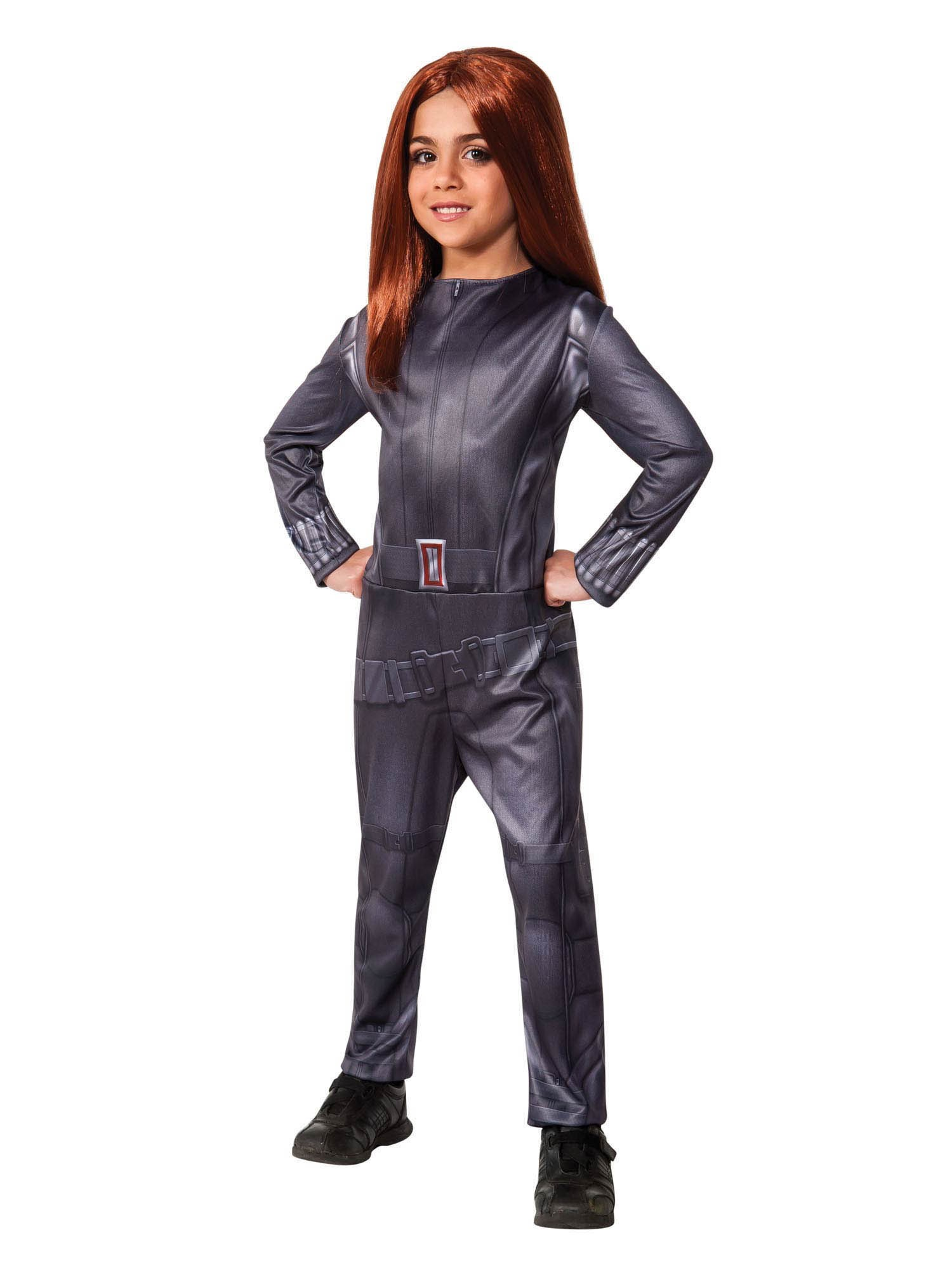 Captain America Winter Soldier - Black Widow Child Costume