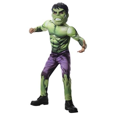 Avengers Assemble Deluxe Hulk Kids Costume