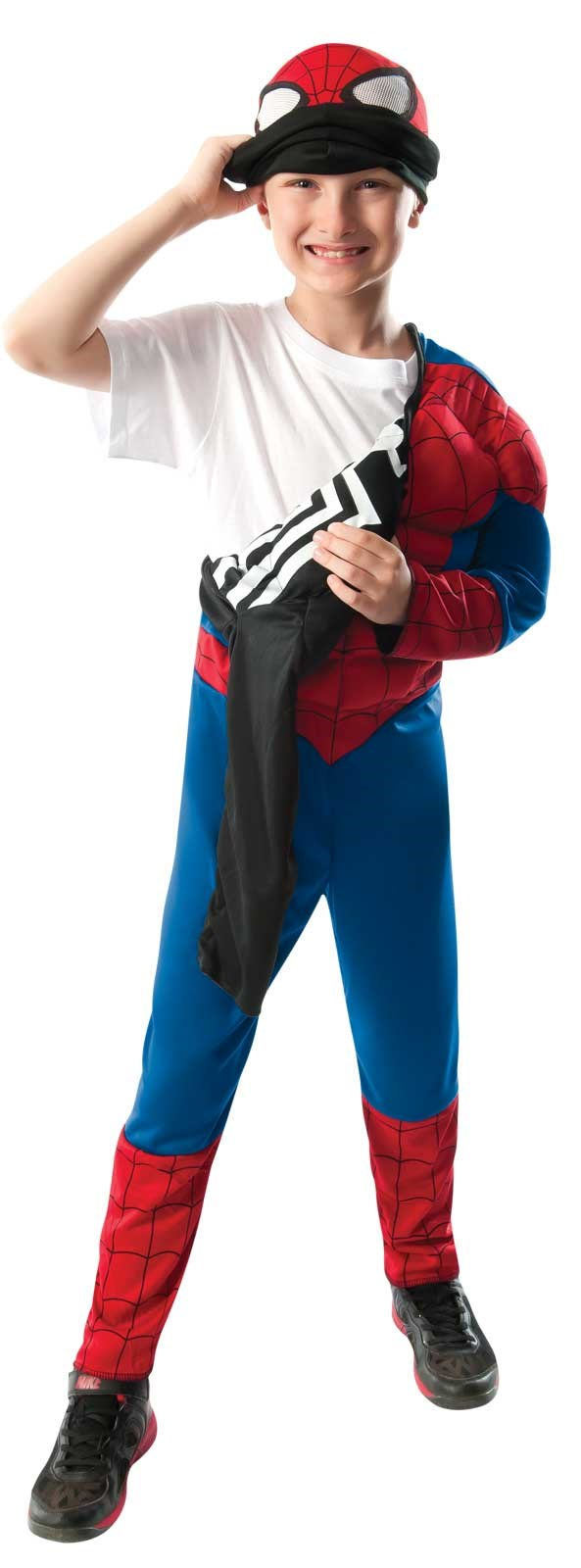 Ultimate Spider-Man Reversible Kids Costume