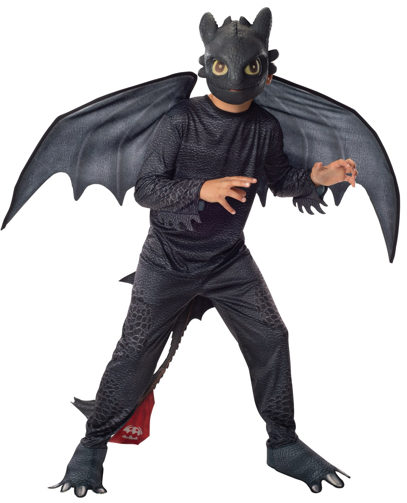 How to Train Your Dragon 2 - Night Fury Toothless Kids Costume