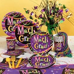 Mardi Gras Beads Party Kit