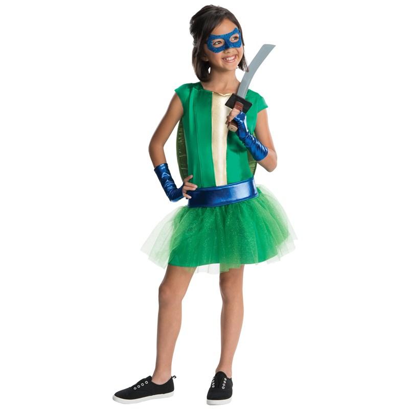 TMNT   Deluxe Leonardo Girl Tutu Kids Costume for the 2015 Costume season.