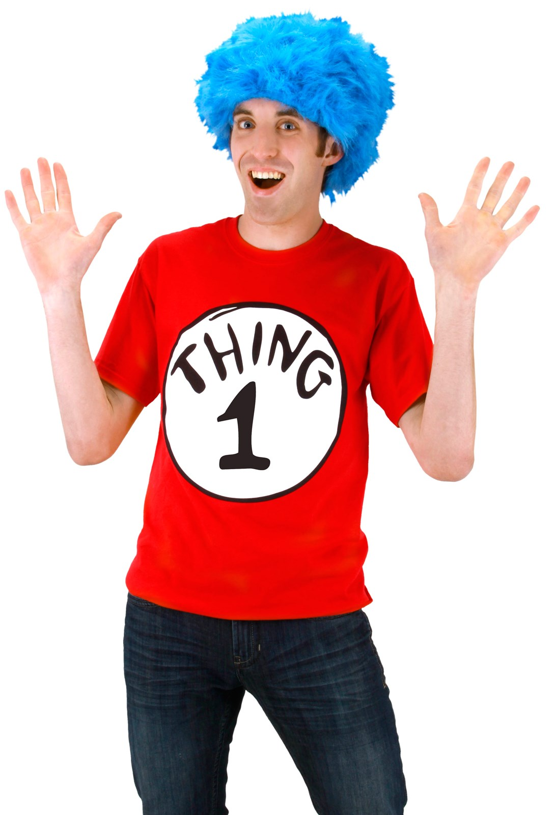 Dr. Seuss Cat In The Hat -Thing 1/2 Tee Shirt Kit
