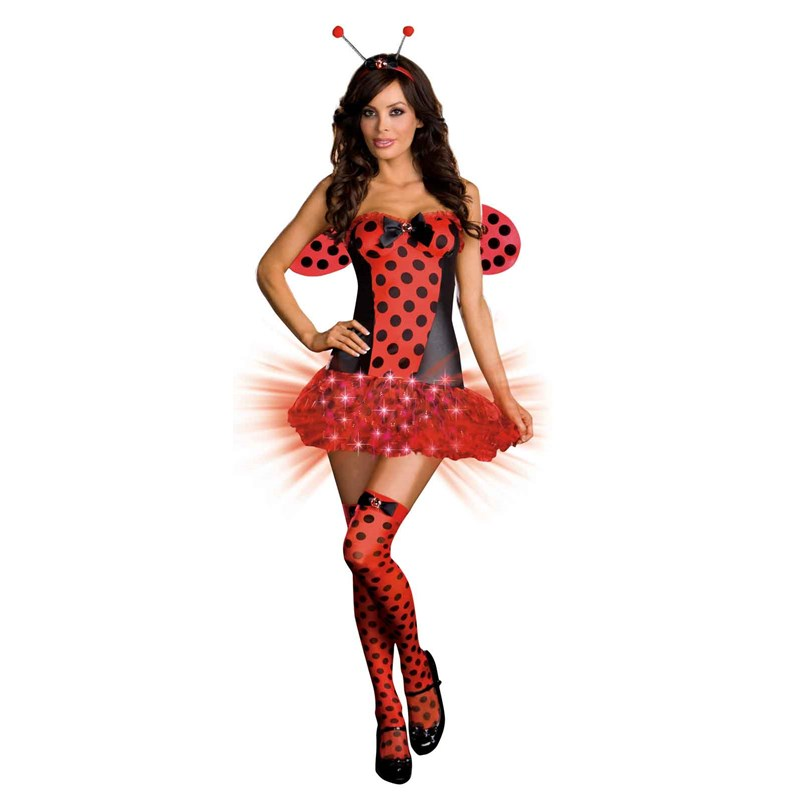 Light Me Up Ladybug Adult Costume for the 2015 Costume season.