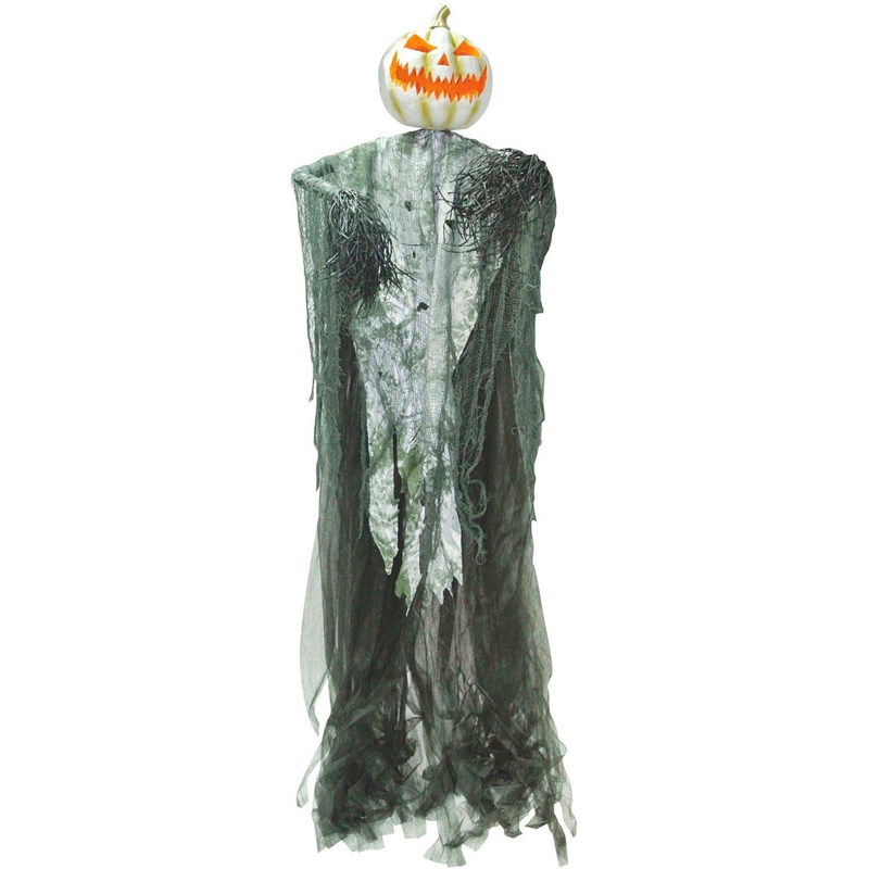Hanging Light Up Pumpkin Man for the 2015 Costume season.
