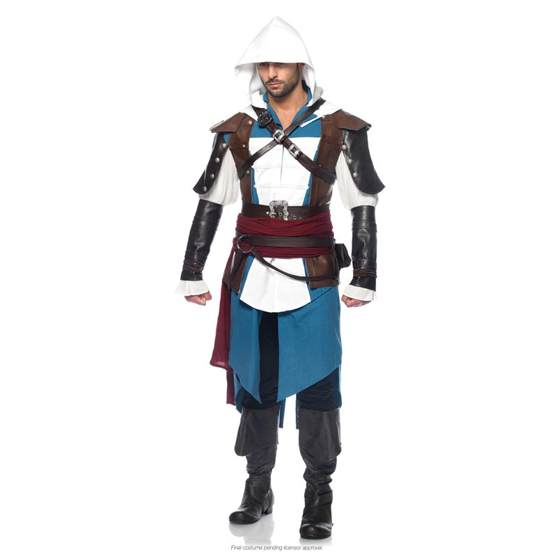 Assassins Creed IV Black Flag   Edward Kenway Adult Costume for the 2015 Costume season.