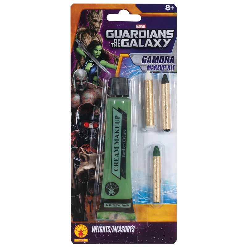 Guardians of the Galaxy   Deluxe Adult Gamora Make Up Kit for the 2015 Costume season.