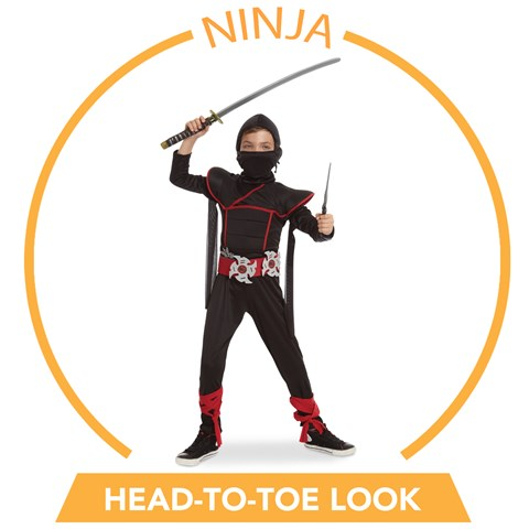 Stealth Ninja Head-to-Toe Look