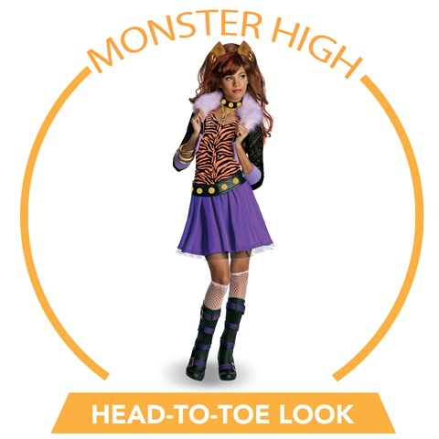 Monster High - Clawdeen Wolf Head-to-Toe Look