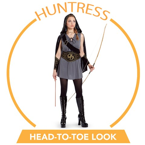 Huntress Head-to-Toe Look