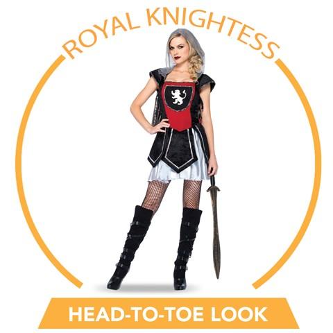 Royal Knightess Head-to-Toe Look