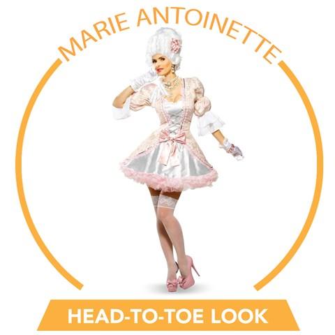 Marie Antoinette Head-to-Toe Look