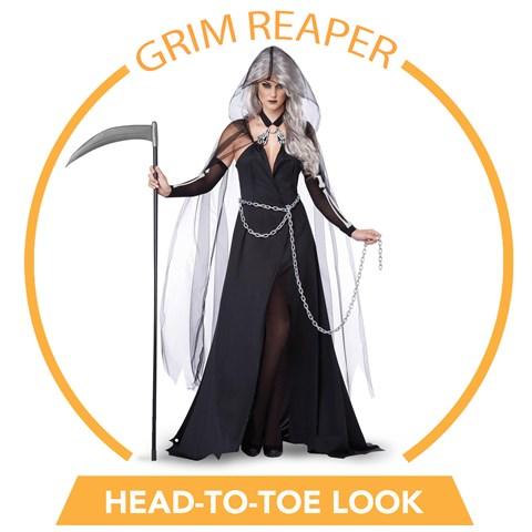 Lady Grim Reaper Head-to-Toe Look